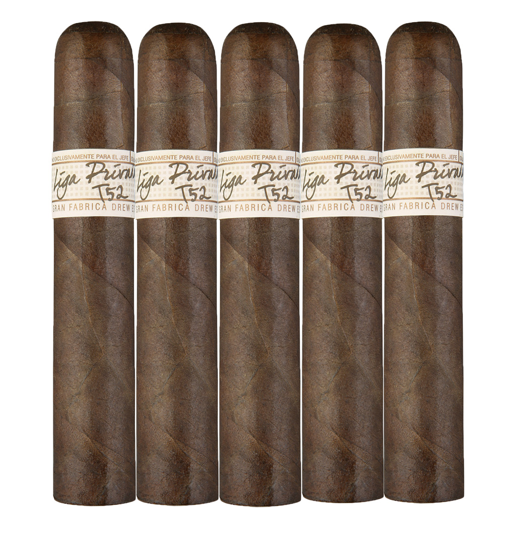 Liga Privada T52 Robusto 5-pack