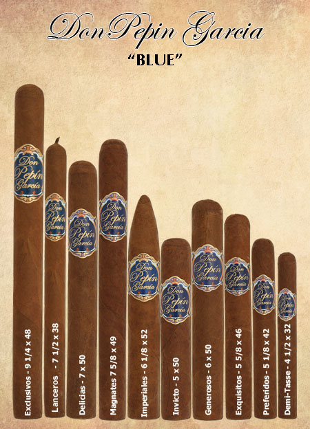 Don Pepin Garcia Blue Delicias 5-pack