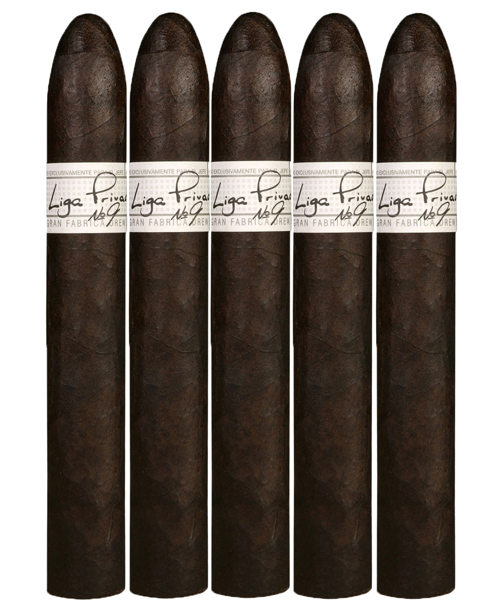 Liga Privada No.9 Belicoso 5-pack