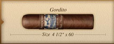 Perdomo Lot 23 Gordito Maduro 5-pack